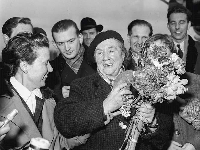 Powitanie Zofii Kossak. 1957 r.